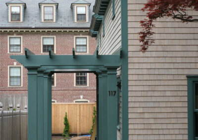 a4-architecture-Brown street-providence-LEED-silver-side entry