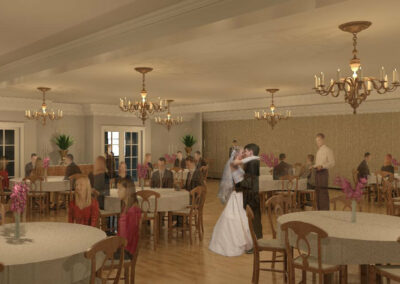 a4-architecture-sturbridge-ma-PROPOSED-MainSt-Publick-House-Dinner-Party-Rendering