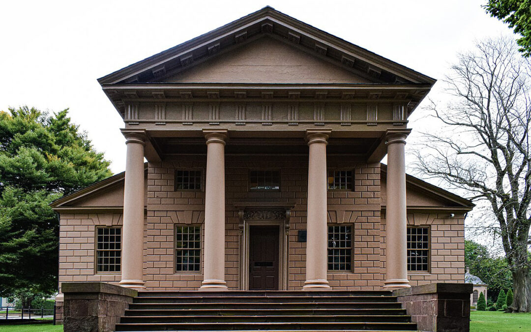 The Architectural Work of Peter Harrison in Newport, Rhode Island