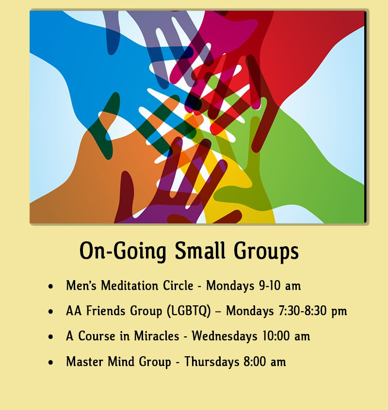 On-Going Small Groups