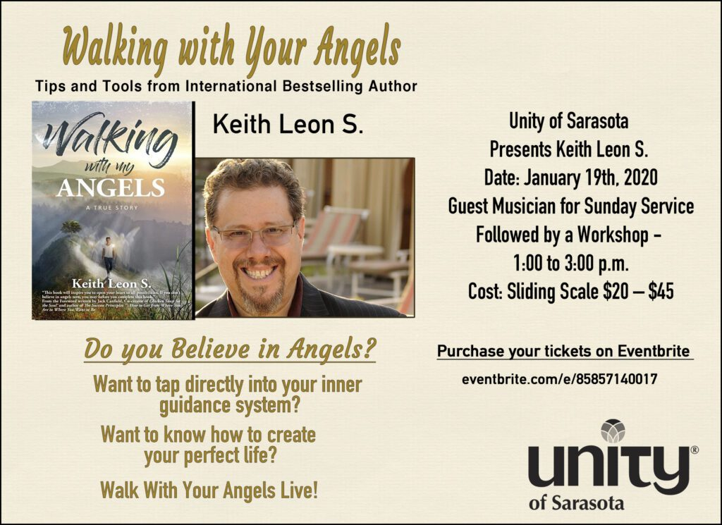 Walking with your angels Leon S