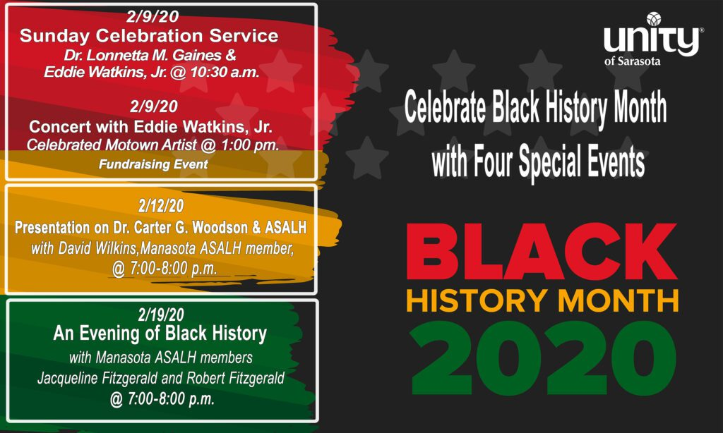 Black History Month 2020 at Unity of Sarasota