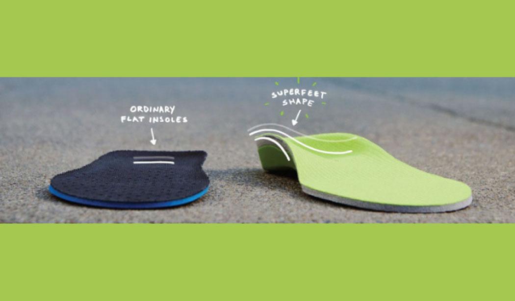 superfeet shape versus shoe liner