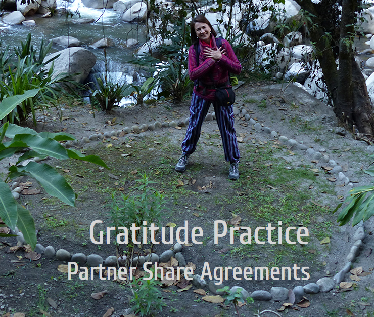 Shared Agreements for our Gratitude Practice