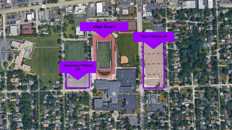 Event Map - Ben's Memorial Mile