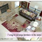 7 Ways To Arrange Furniture In The Same Room