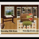 Color Psychology: Decorating with Brown