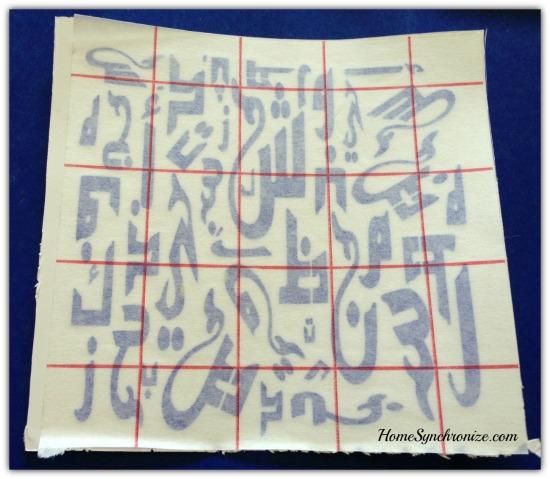 arabic alphabets 10