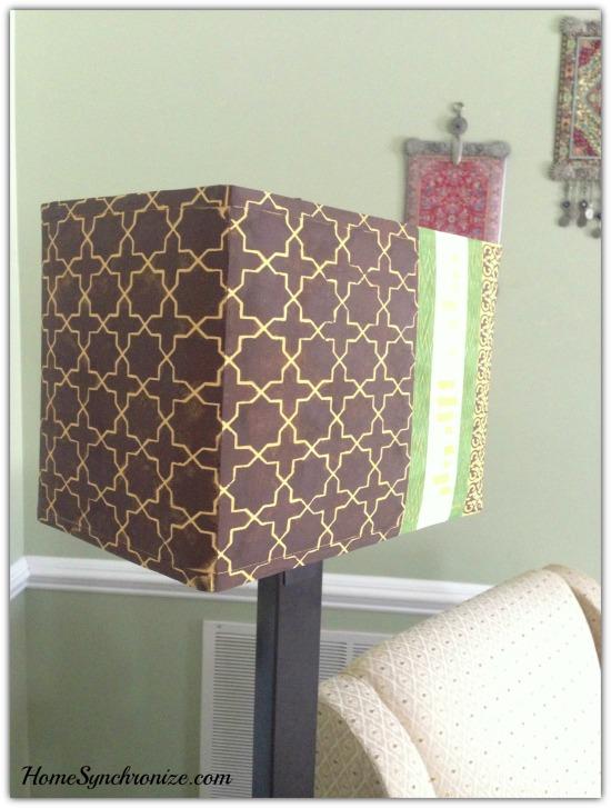 DIY lamp shade 10