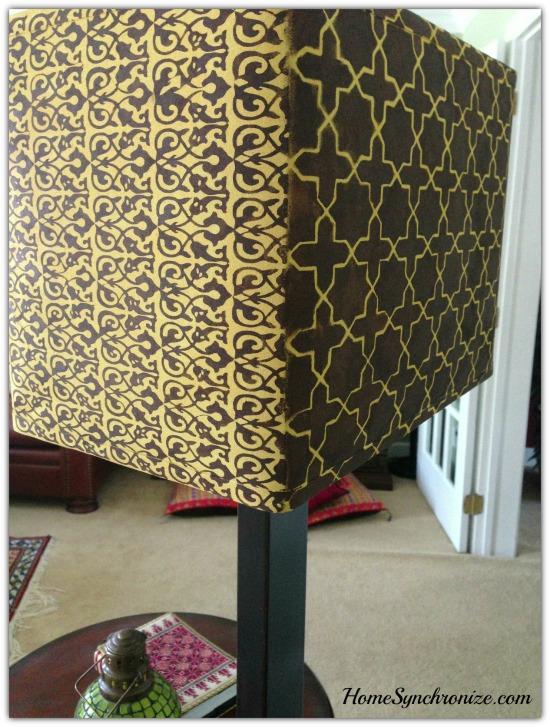 DIY lamp shade 13