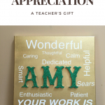 A Token Of Appreciation-Personalized Artwork