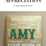 A Token Of Appreciation-Personalized Artwork