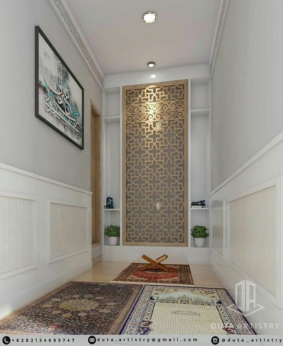 Muslim prayer space
