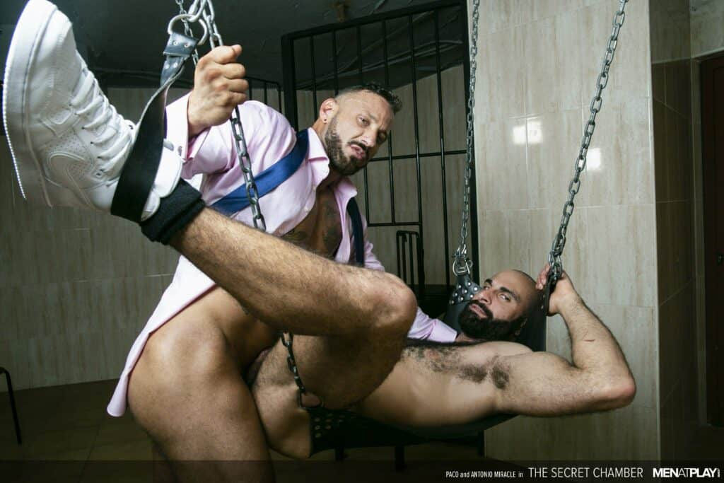 Men At Play, Paco, Antonio Miracle, Secret Chamber