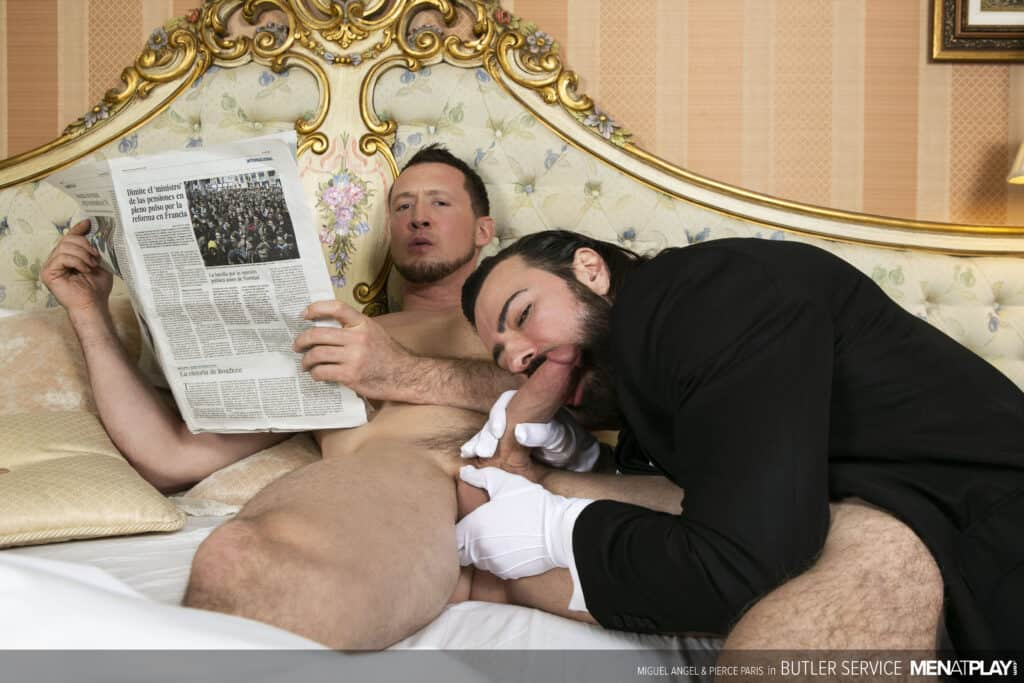 ierce Paris, Miguel Angel, Men at Play, Butler Service
