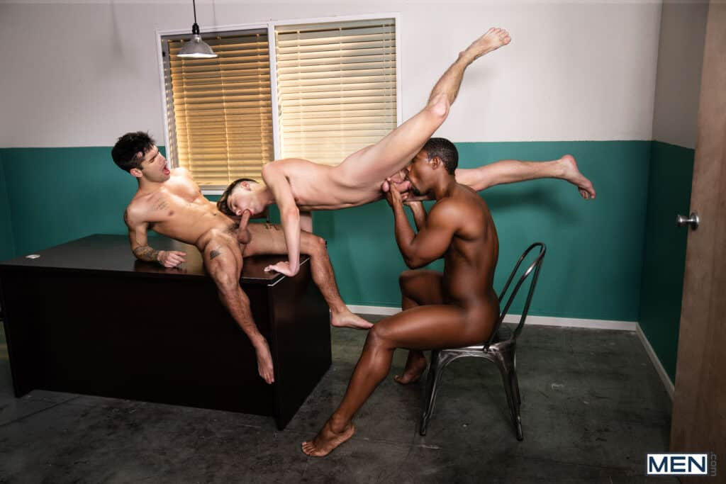 DeAngelo Jackson, Ty Mitchell, Joey Mills, Men.com, Top of the fair ass wheel