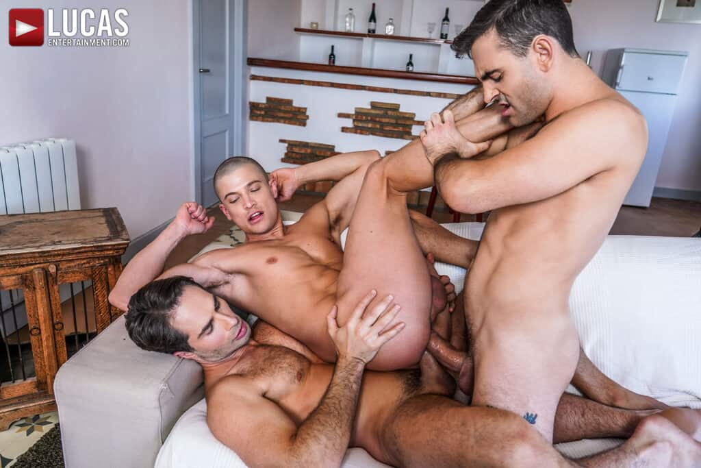 Ruslan Angelo, Michael Lucas, Max Arion, Lucas Entertainment