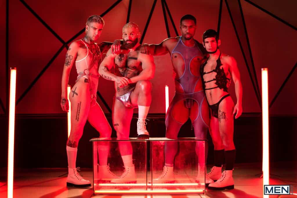 Future Erotica, Men.com, Tom of Finland, Francois Sagat, Mickey Taylor, DeAngelo Jackson, Ty Mitchell