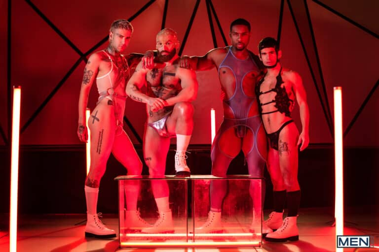 Future Erotica, Men.com, Tom of Finland, Francois Sagat, Mickey Taylor, DeAngelo Jackson, Ty Mitchell