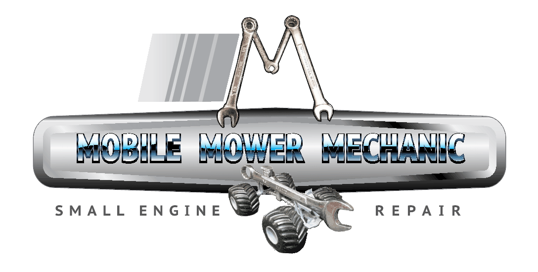 Mobile onsite lawn mower shop