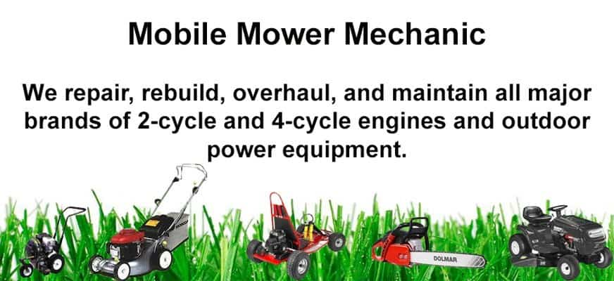 Mobile Mower Mechanic push mower Repair Services