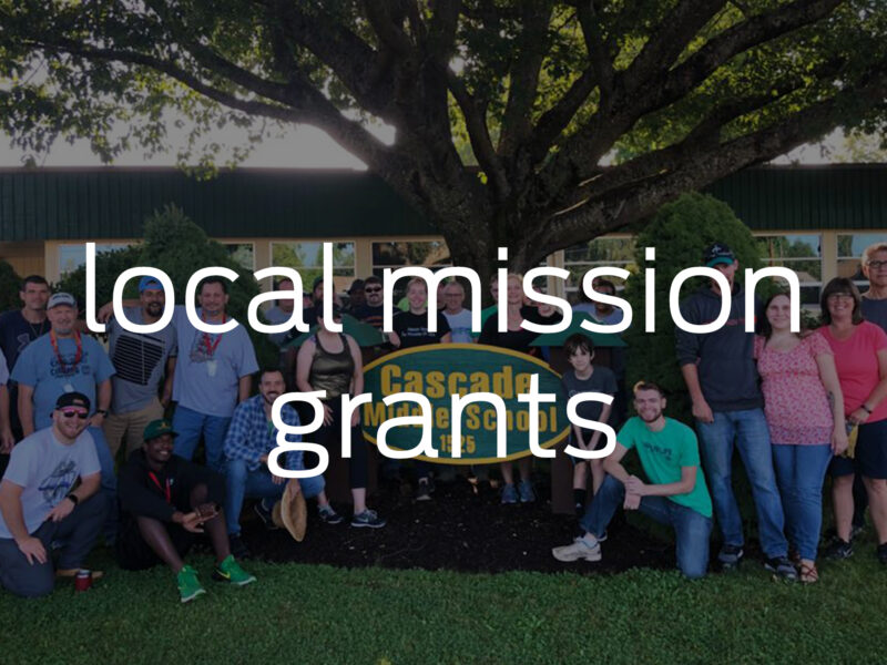<span>Local Missions Grants</span><i>→</i>
