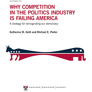 Why Competition in the Politics Industry is Failing America Report Cover