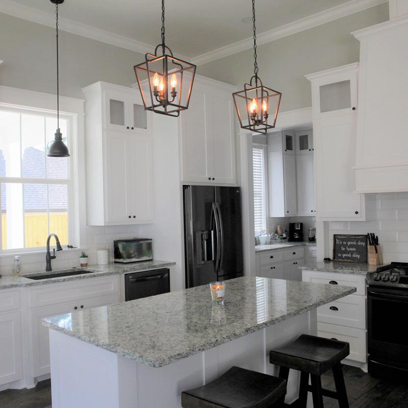 Residential-Kitchen pendant lighting