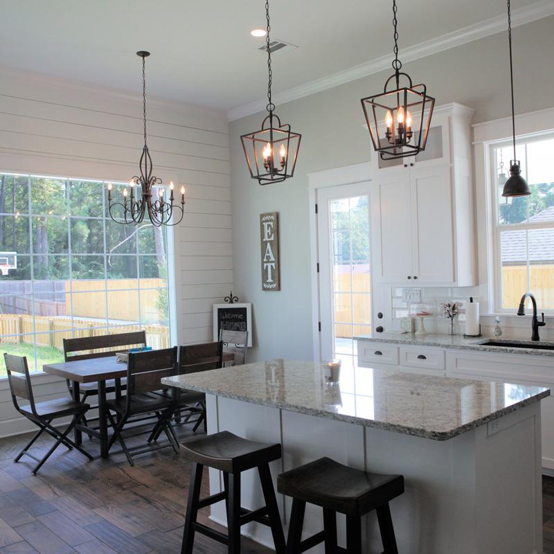 Residential-pendant lighting