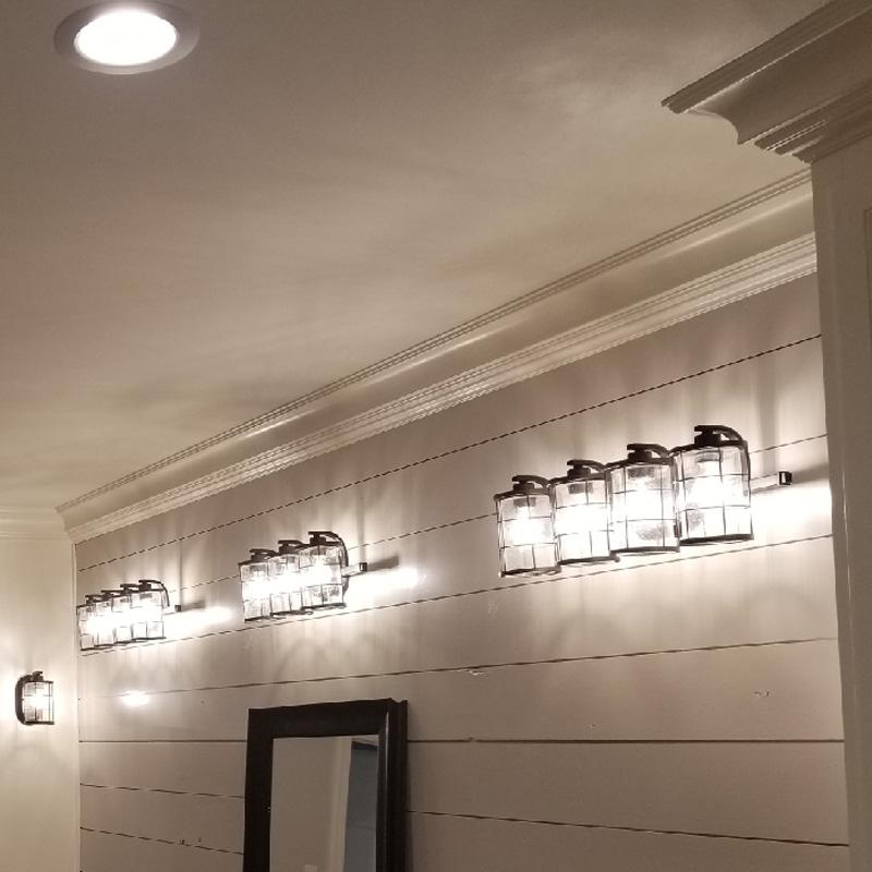 Residential- Bathroom lighting