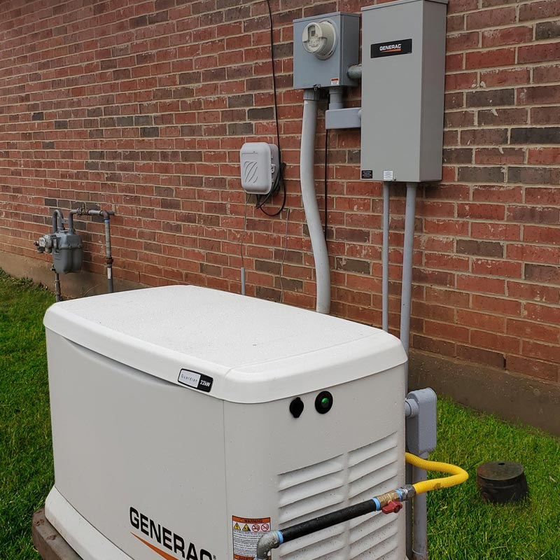 north louisiana electrical generator install