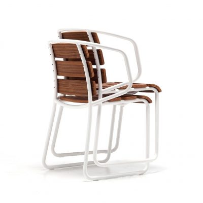Lido Out Stackable Chair 02