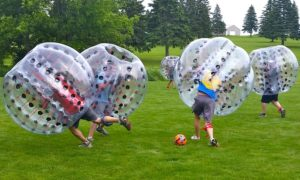 bubble-soccer-party-outdoors