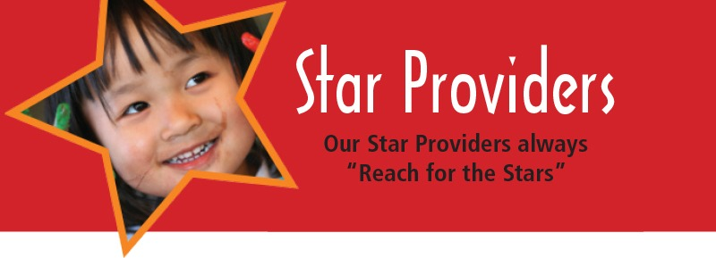 Star Providers--Our Star Providers Always Reach for the Stars