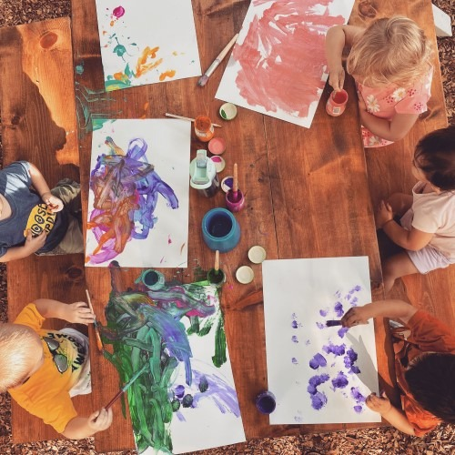 Toddlers-Painting