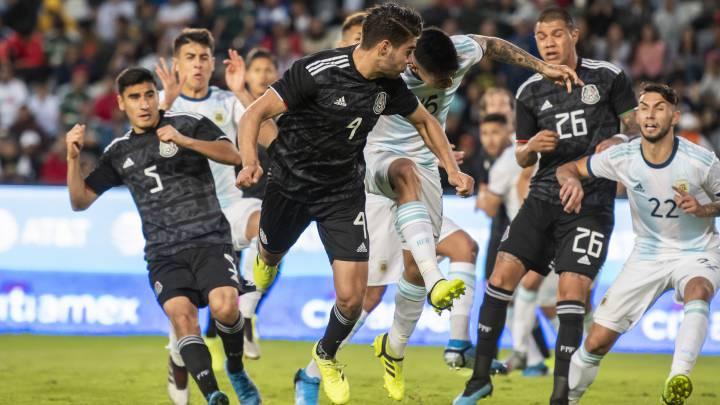 México Sub-22 empató ante Argentina