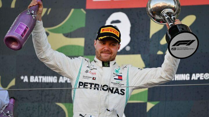 Valtteri Bottas ganó el GP de Japón