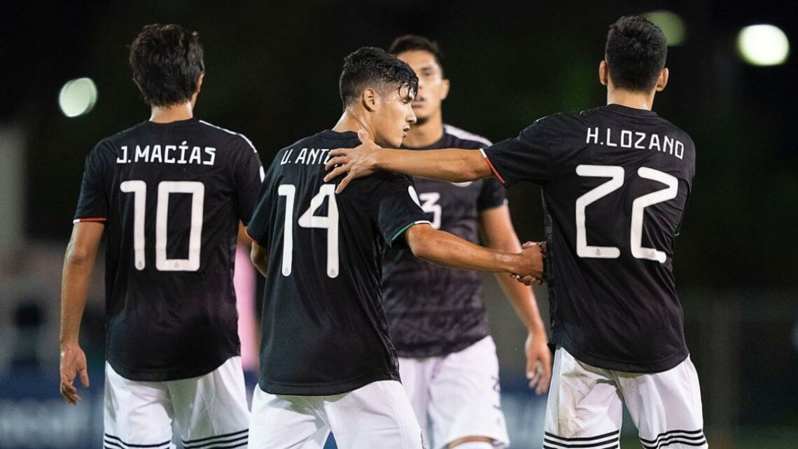 México goleó a Bermudas