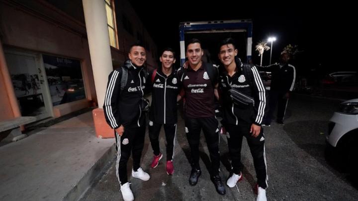 Selección Mexicana se instala en Bermudas para Liga de Naciones