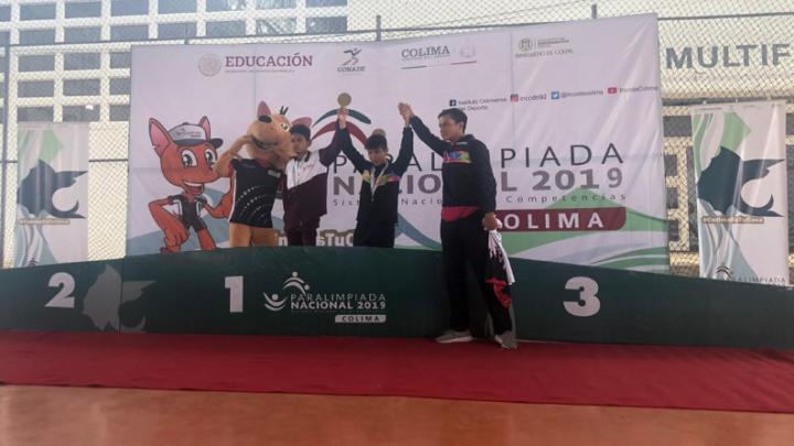 Caen primeras medallas de oro para Querétaro en Para Atletismo