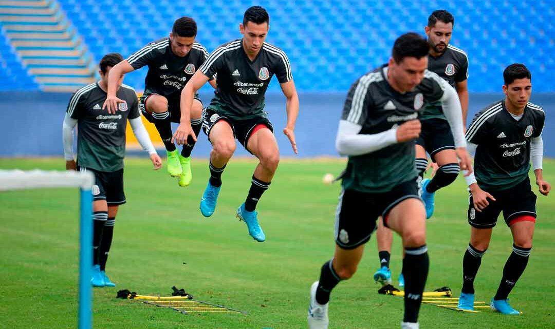TRI Sub-22 se prepara para partidos ante Argentina en fecha FIFA