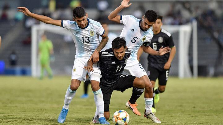 México igualó a dos contra Argentina en amistoso Sub-22