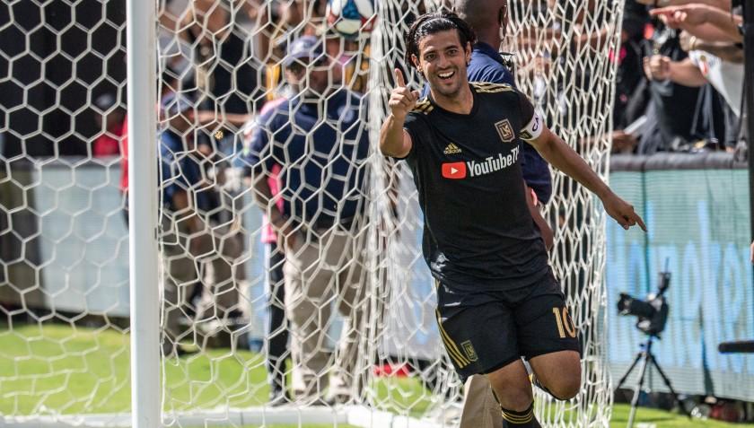 Carlos Vela rompió récord de goles en la MLS