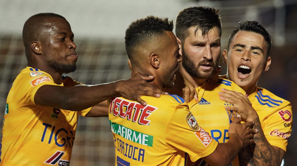 Tigres goleó a Santos