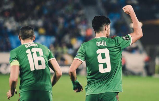 Raúl Jiménez marcó en el triunfo de los Wolves en la Europa League