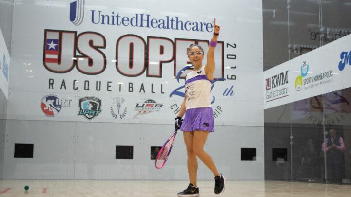 Paola Longoria consiguió su título 100 como profesional