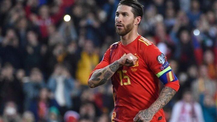 Sergio Ramos es el jugador con más partidos en la Roja