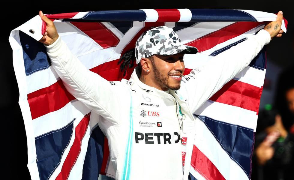 Lewis Hamilton se proclamó campeón de la F1 por sexta vez