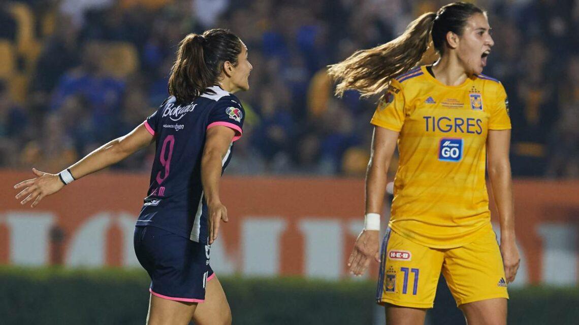 Tigres femenil y Rayadas igualaron a uno