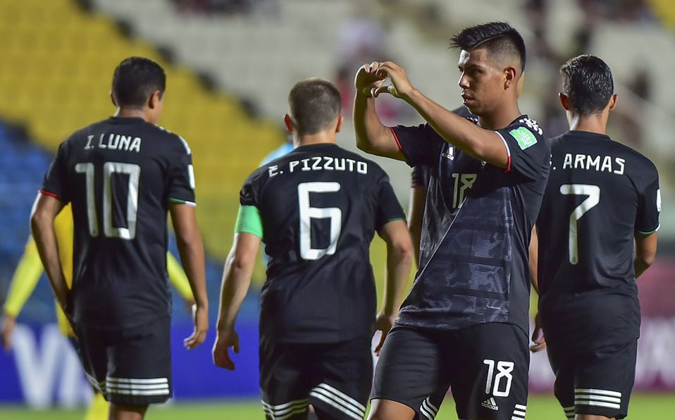 El TRI Sub-17 avanza a octavos de final en el mundial; los mexicanos golearon 8-0 a Islas Salomón